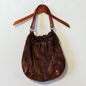 Fossil Suede Bag
